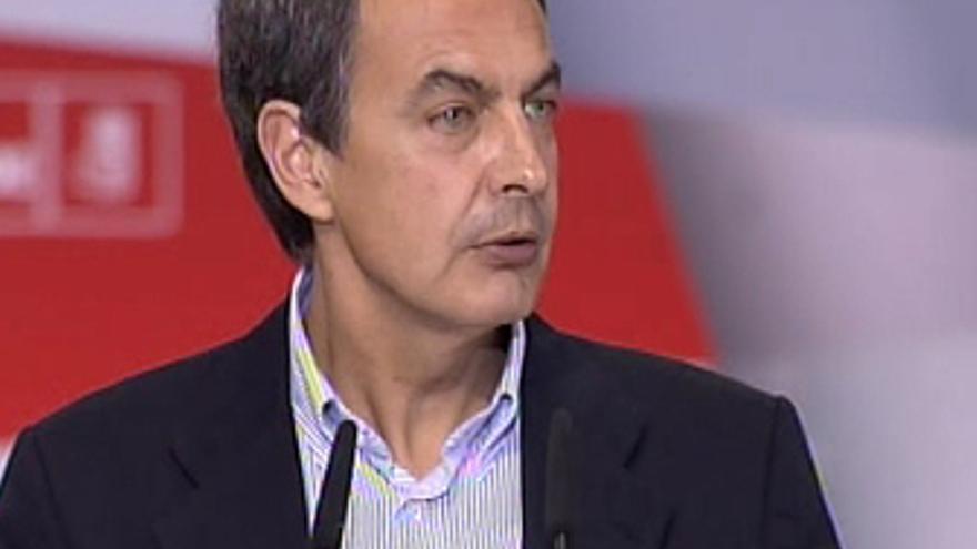 Zapatero agradece a PNV y CC