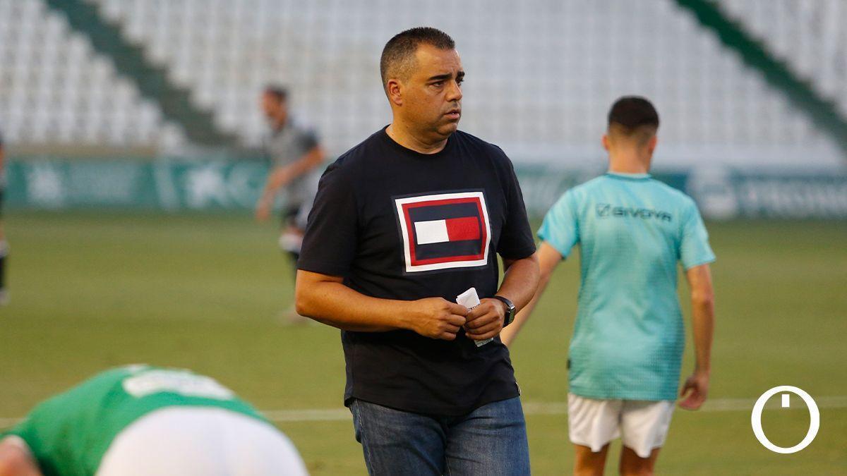 Germán Crespo, en un partido del Córdoba