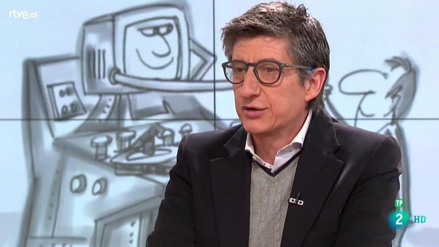 Juan Carlos Rivero en 'RTVE Responde'