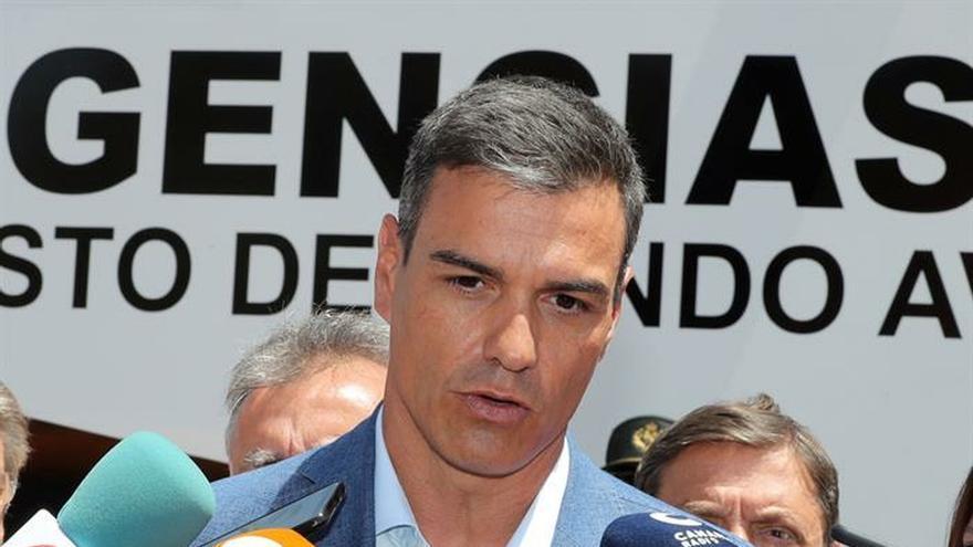 Sánchez visita este sábado las zonas afectadas de Alicante y Murcia