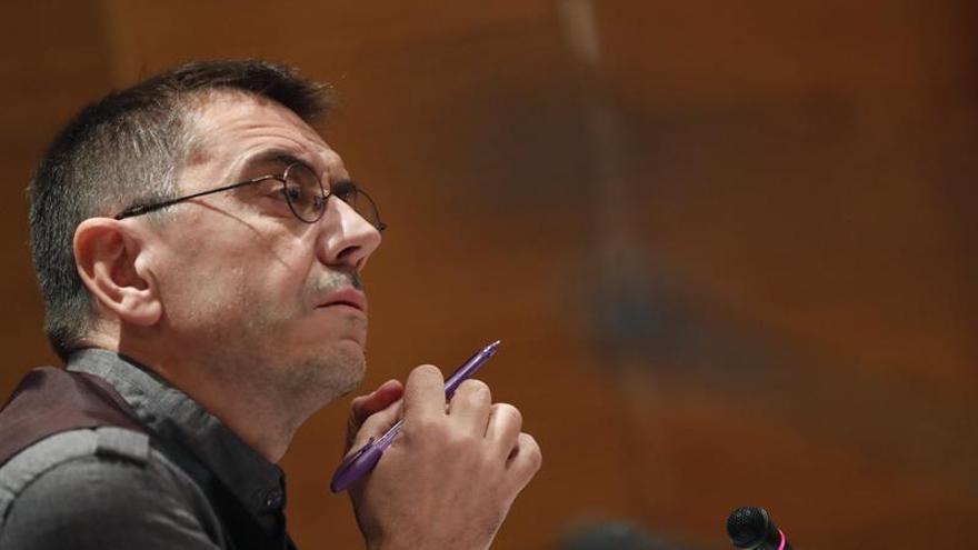 El PP se desmarca de una posible actuación de la Fiscalía contra Monedero