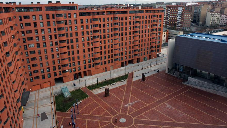 Vista de la zona en la que está el ático del alcalde de Burgos / eldiario.es