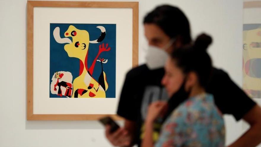 Más cuadros que visitantes en la reapertura del Prado, Reina Sofía y Thyssen
