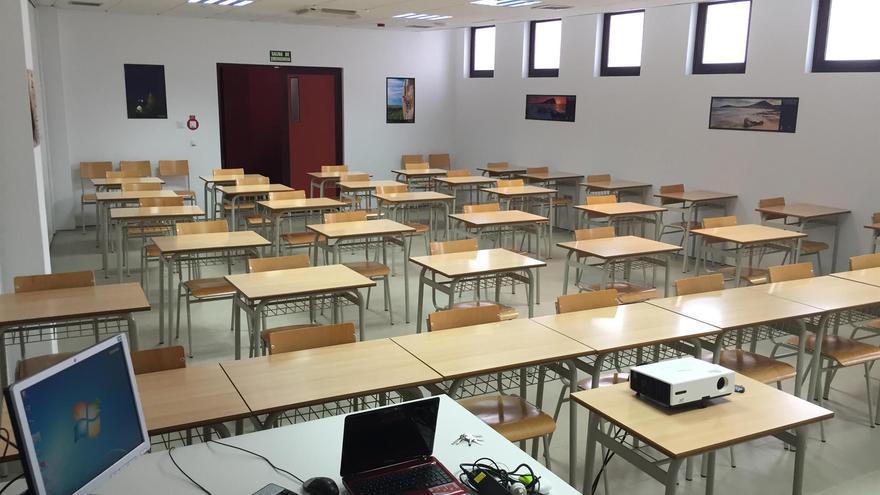 Aula vacía en un centro docente