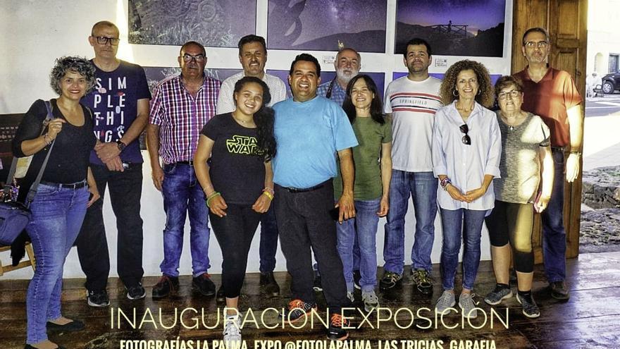 Inauguración de la  exposición colectiva 'Paisajes de La Palma'  de 'Afoto' La Palma.