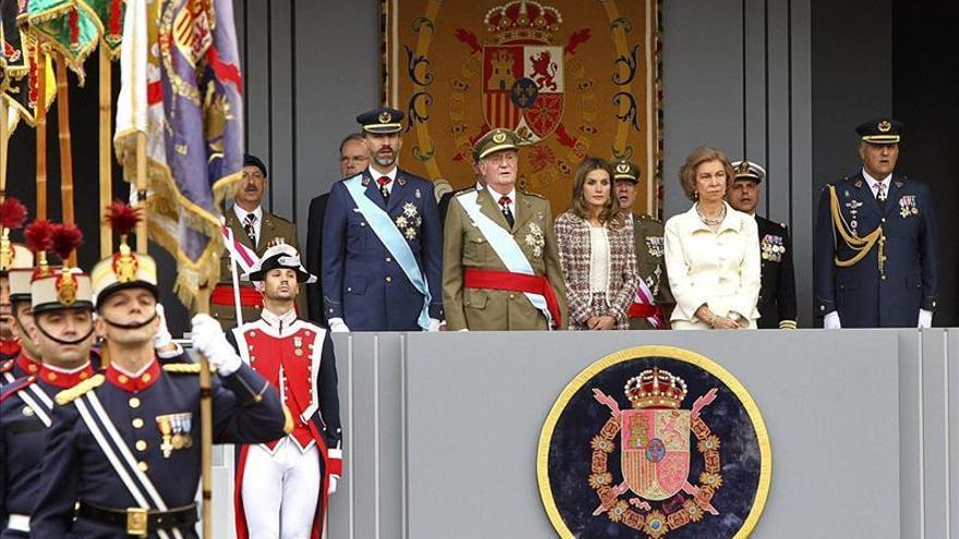 Los Reyes y los Príncipes asistirán al homenaje del Día de las Fuerzas Armadas