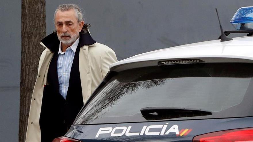 Francisco Correa a la entrada de la Audiencia Nacional.