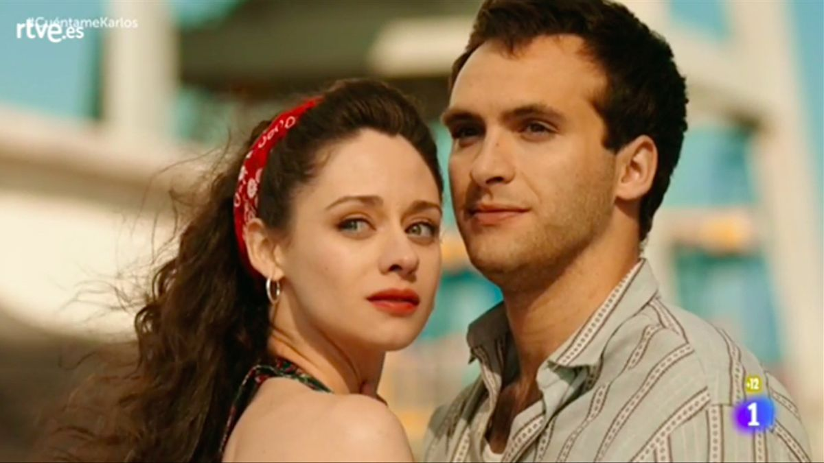 Karina y Carlos, en su capítulo final en 'Cuéntame'