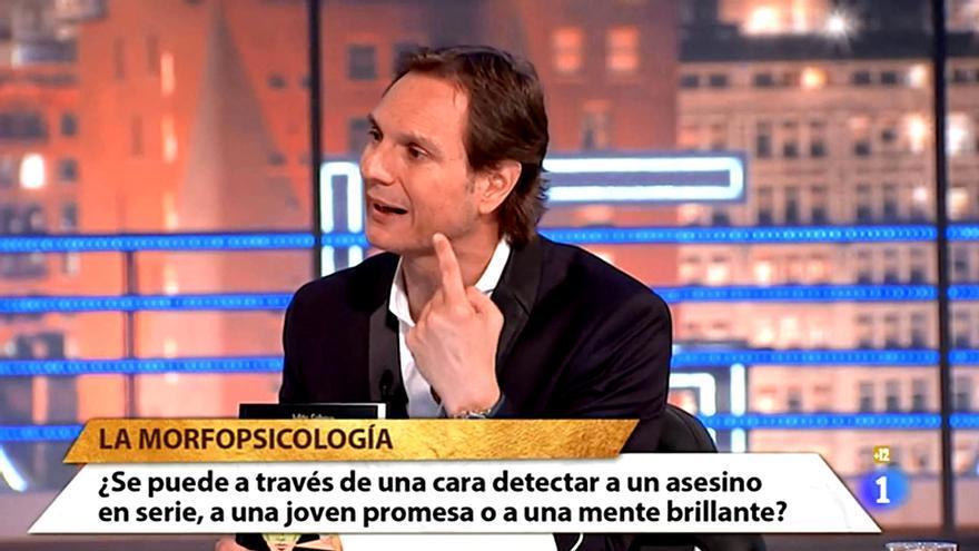 Cárdenas habla sobre la morfopsicología en TVE