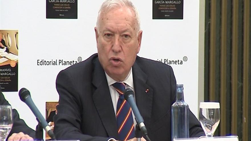 """Margallo recalca que no hay petición de Francia y por lo tanto España no está barajando aún """"ninguna opción"""""""
