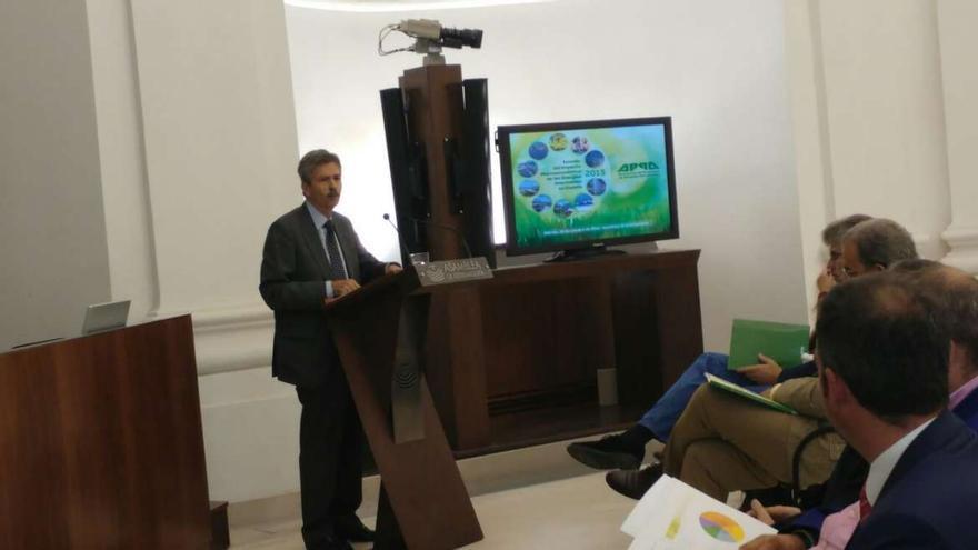 Jose Luis Navarro consejero Economia Infraestructuras Extremadura
