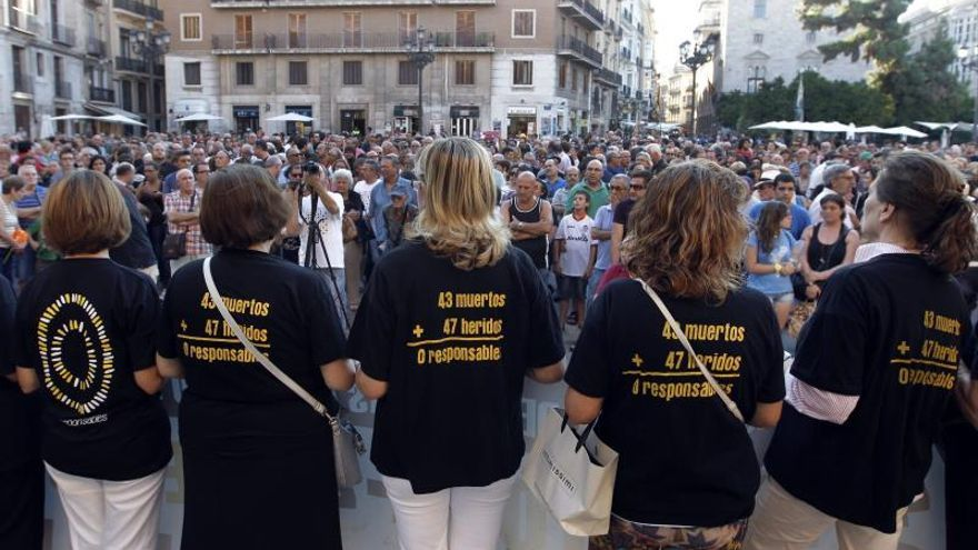 La Audiencia acuerda reabrir el caso del accidente del metro de Valencia