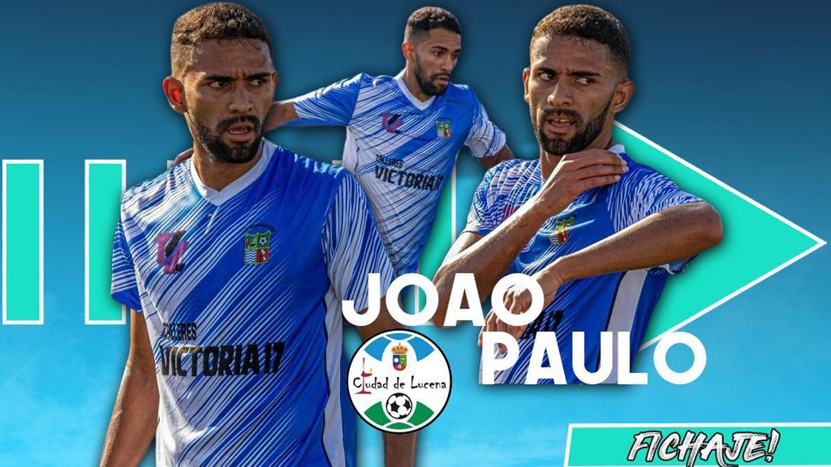 João Paulo, nuevo fichaje del Ciudad de Lucena