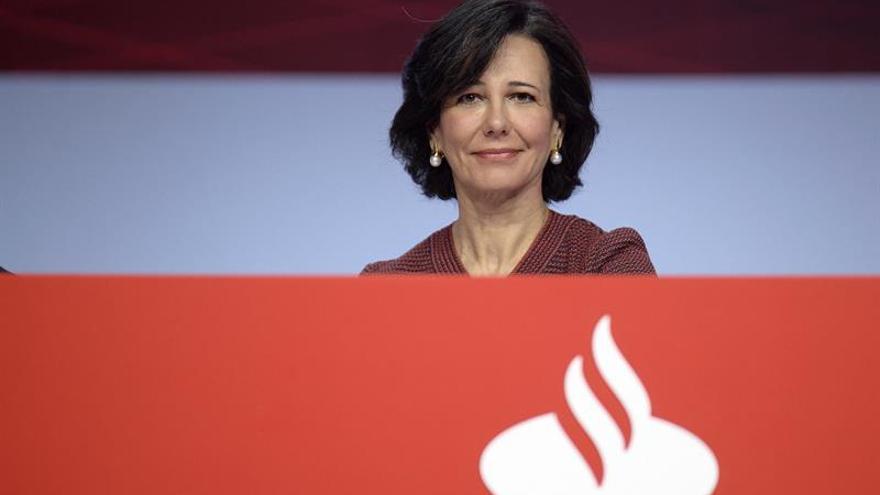 La presidenta de Banco Santander, Ana Botín.