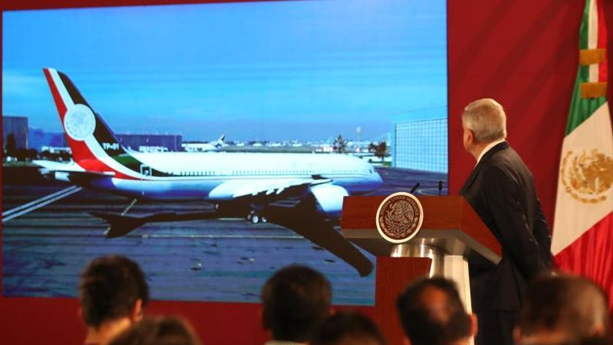 México traerá de regreso avión presidencial desde EE.UU. tras fallida venta