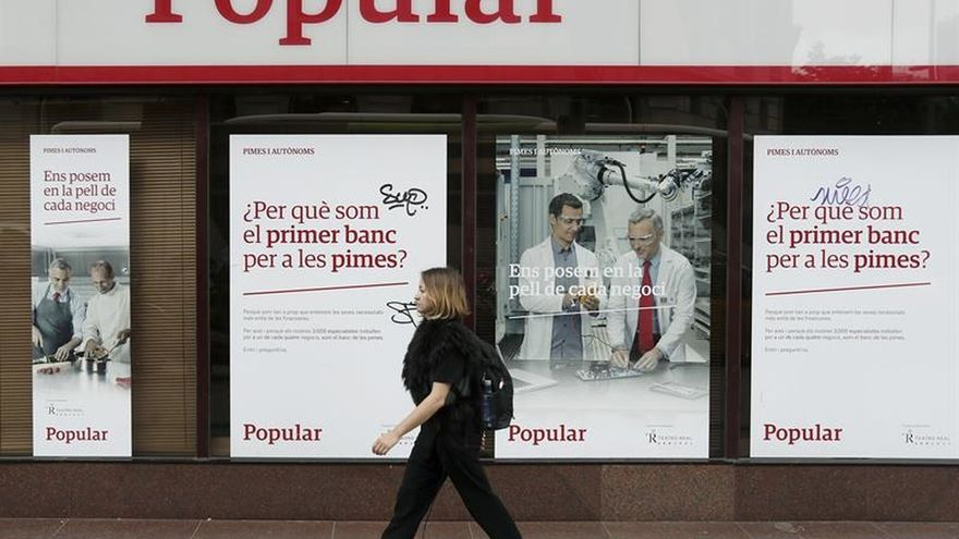 El Banco Popular publica las nuevas calificaciones de S&P tras su venta