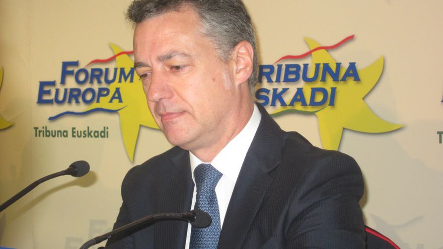 """Urkullu reitera su apuesta por un """"nuevo estatus político"""" para Euskadi sometido a """"refrendo popular"""""""