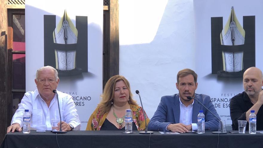 Presentación de del II Festival Hispanoamericano de Escritores en Los Llanos.