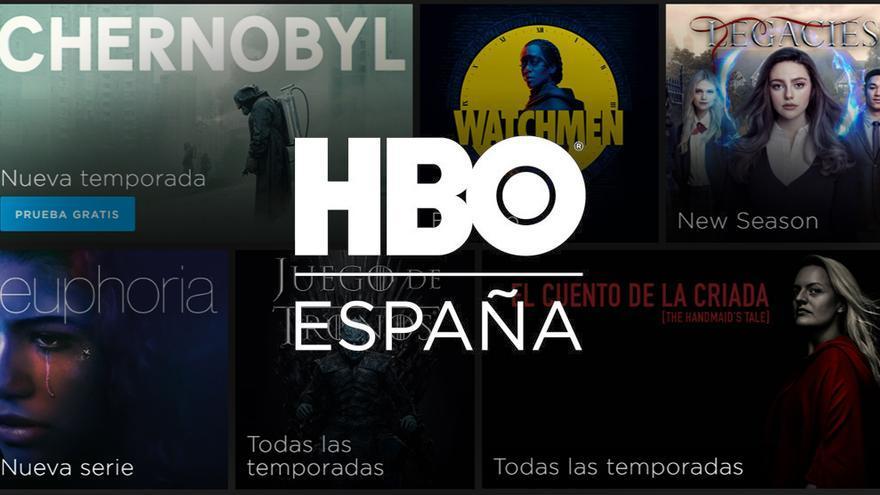 Catálogo de HBO España