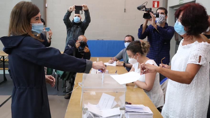 Elkarrekin Podemos-IU paga en las urnas su imagen de desunión