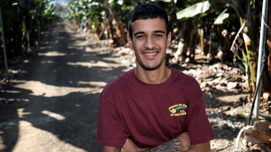El joven grancanario de 18 años Ismael Travieso EFE/Ángel Medina G.