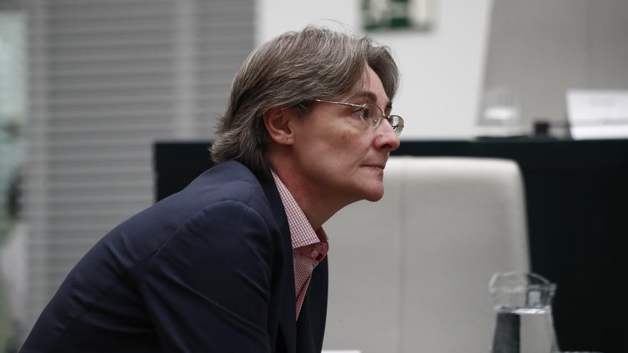 """Marta Higueras (Más Madrid) critica el """"indigno"""" tuit de De Quinto sobre el Open Arms y le compara con Donald Trump"""