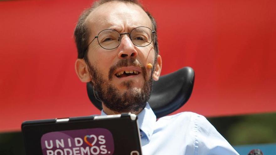 Echenique: Quien haya tuiteado el vídeo de Pedro Sánchez no ha hecho bien