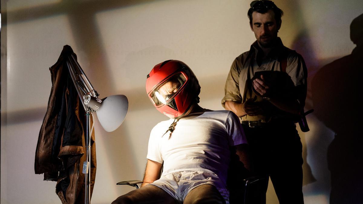 Escena de 'Los papeles de Sísifo'. Centro Dramático Nacional.