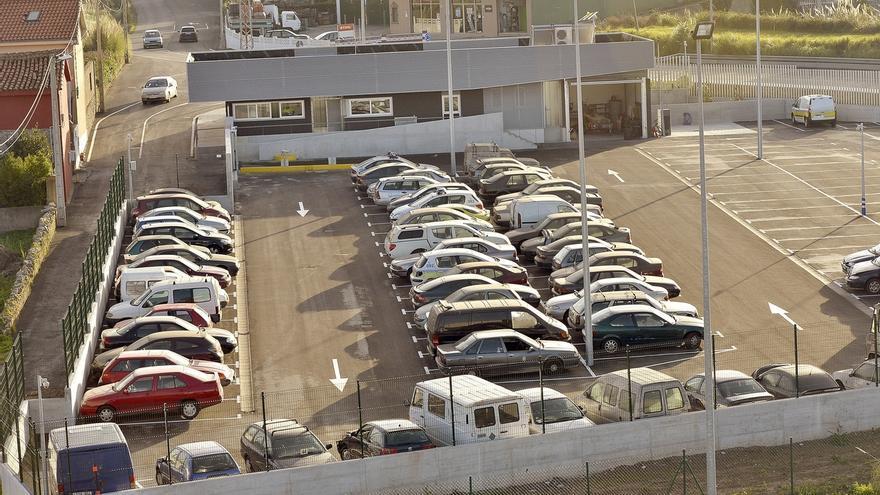 Entra en servicio el nuevo depósito de vehículos de Ojáiz