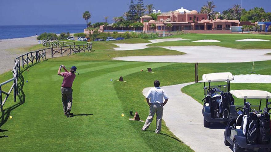 El campo de Guadalmina está preparado para el Open de España de golf