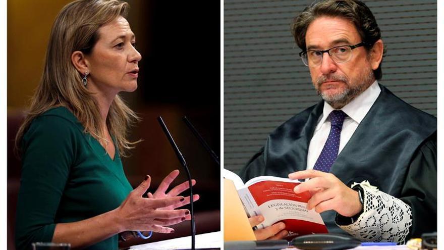 Victoria Rosell y Salvador Alba
