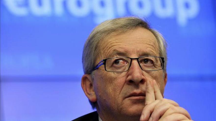 El presidente del Eurogrupo, el primer ministro luxemburgues Jean Claude Juncker