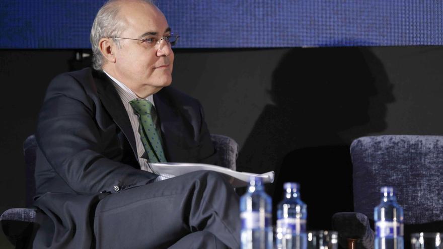 El juez del Tribunal Supremo Pablo Llarena en una conferencia en Oviedo.