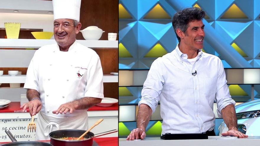 Arguiñano y Jorge Fernández