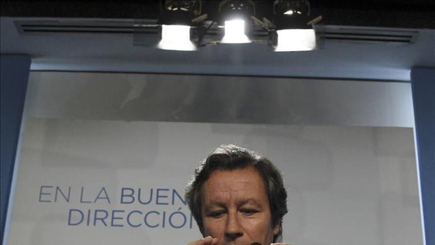 """Floriano, seguro de que los ciudadanos votarán """"estabilidad"""" y no """"experimentos"""""""