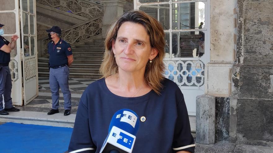 Ribera pide más compromiso al G20 para luchar contra la crisis climatica