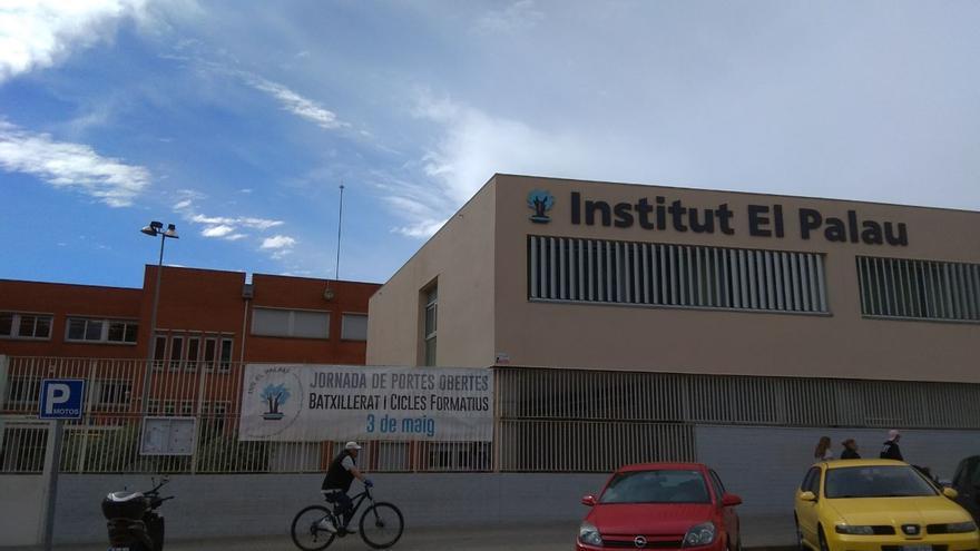 Entrada del instituto El Palau