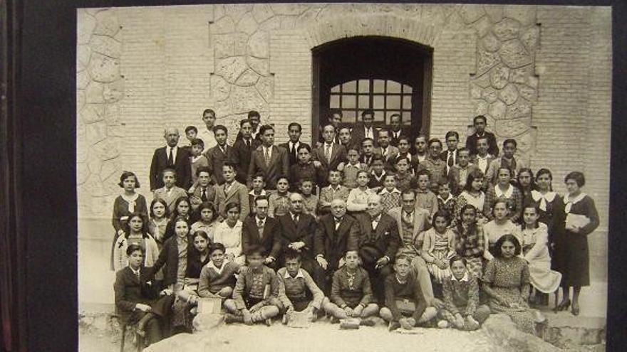 Alumnado del instituto local de Quintanar de la Orden (Toledo)