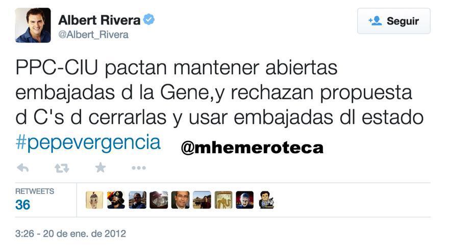 Rivera sobre embajadas catalanas 1