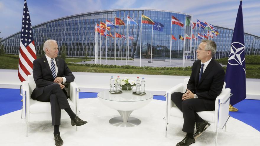 Biden advierte en la OTAN de los nuevos retos provenientes de Rusia y China