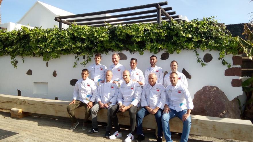 Chefs de Lanzarote.