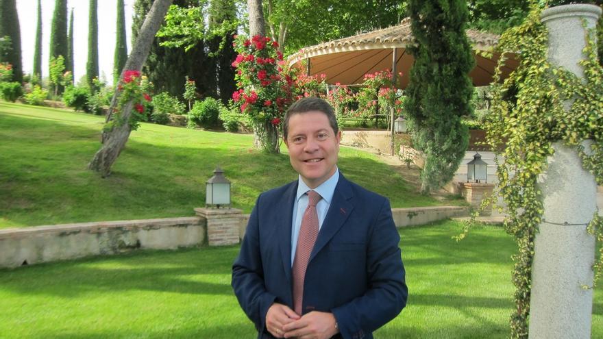 """García-Page, sobre la última encuesta: """"Me esperaba a Cospedal con una mayoría que se salía del mapa"""""""