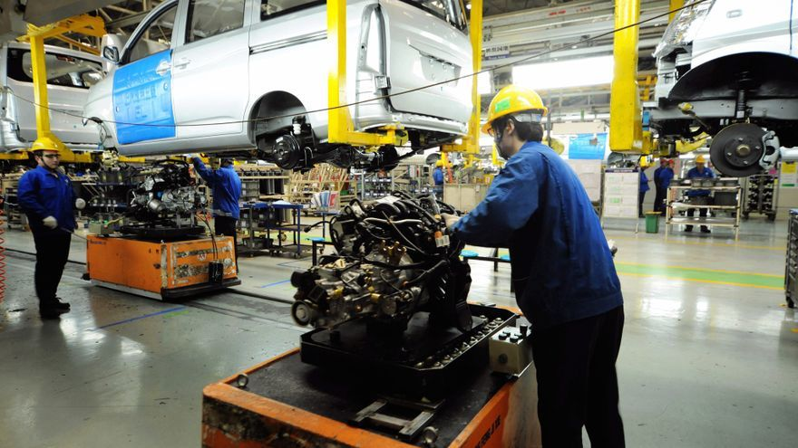 La industria manufacturera china se recupera en marzo