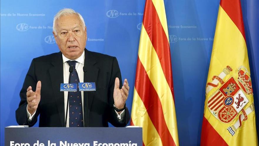 """Margallo defiende el diálogo con Cataluña pero no para el """"golpe"""" que quería Mas"""
