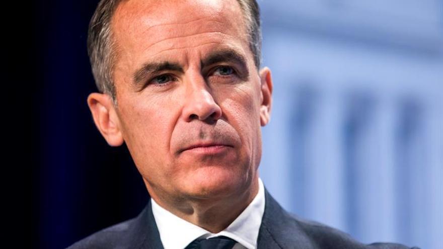 """Carney recalca la limitada influencia del Banco de Inglaterra en el """"brexit"""""""