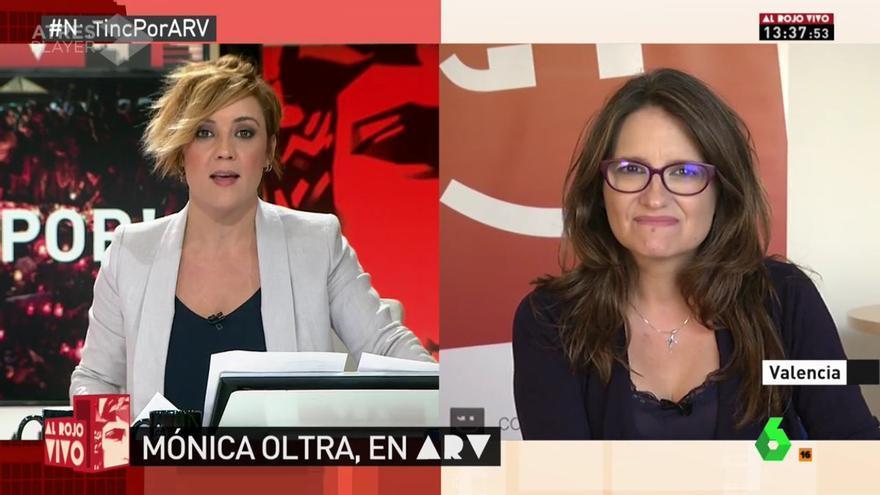 Mónica Oltra en la Sexta.