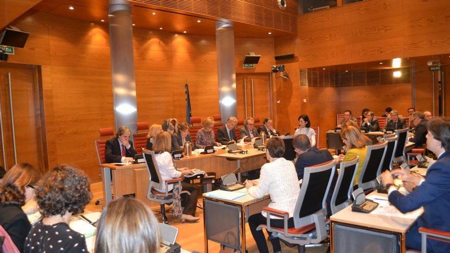 Comisión de Medio Ambiente en el Senado