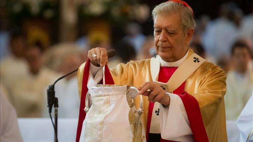 """El cardenal venezolano pide a Maduro """"rectificar"""" y a la oposición """"humildad"""""""