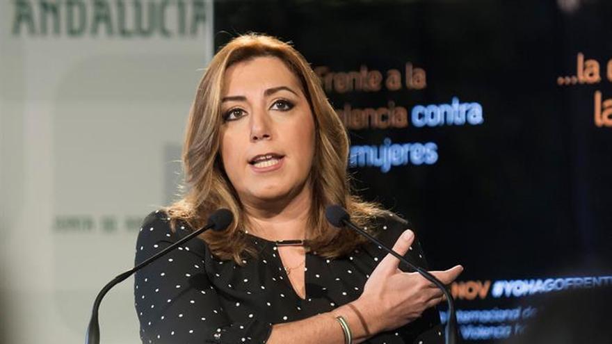 Susana Díaz ve compatible presidencia CCAA y Secretaría General del PSOE