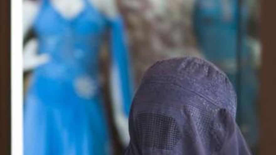 Mujer con burka